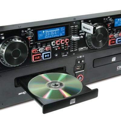 Numark CDN77USB Twin MP3 CD And USB Player