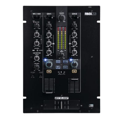 Reloop RMX-22i Professional 2 Channel Digital DJ Mixer