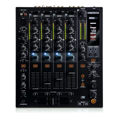 Reloop RMX-60 DIGITAL Professional 4 Channel Mixer With Digital FX