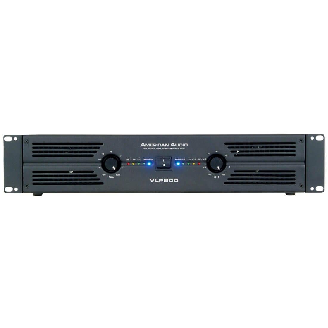 American Audio VLP600 Power Amplifier
