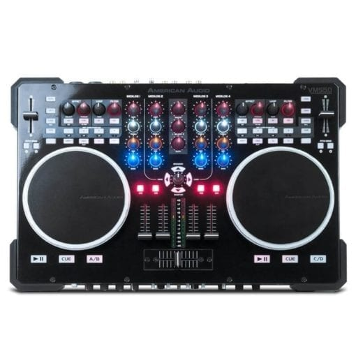 American Audio VMS5 4 Channel Midi DJ Controller With Virtual DJ LE