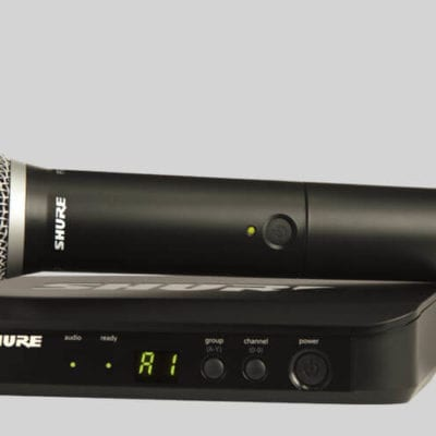 Shure BLX24UK/PG58 Single Wireless Handheld Microphone System