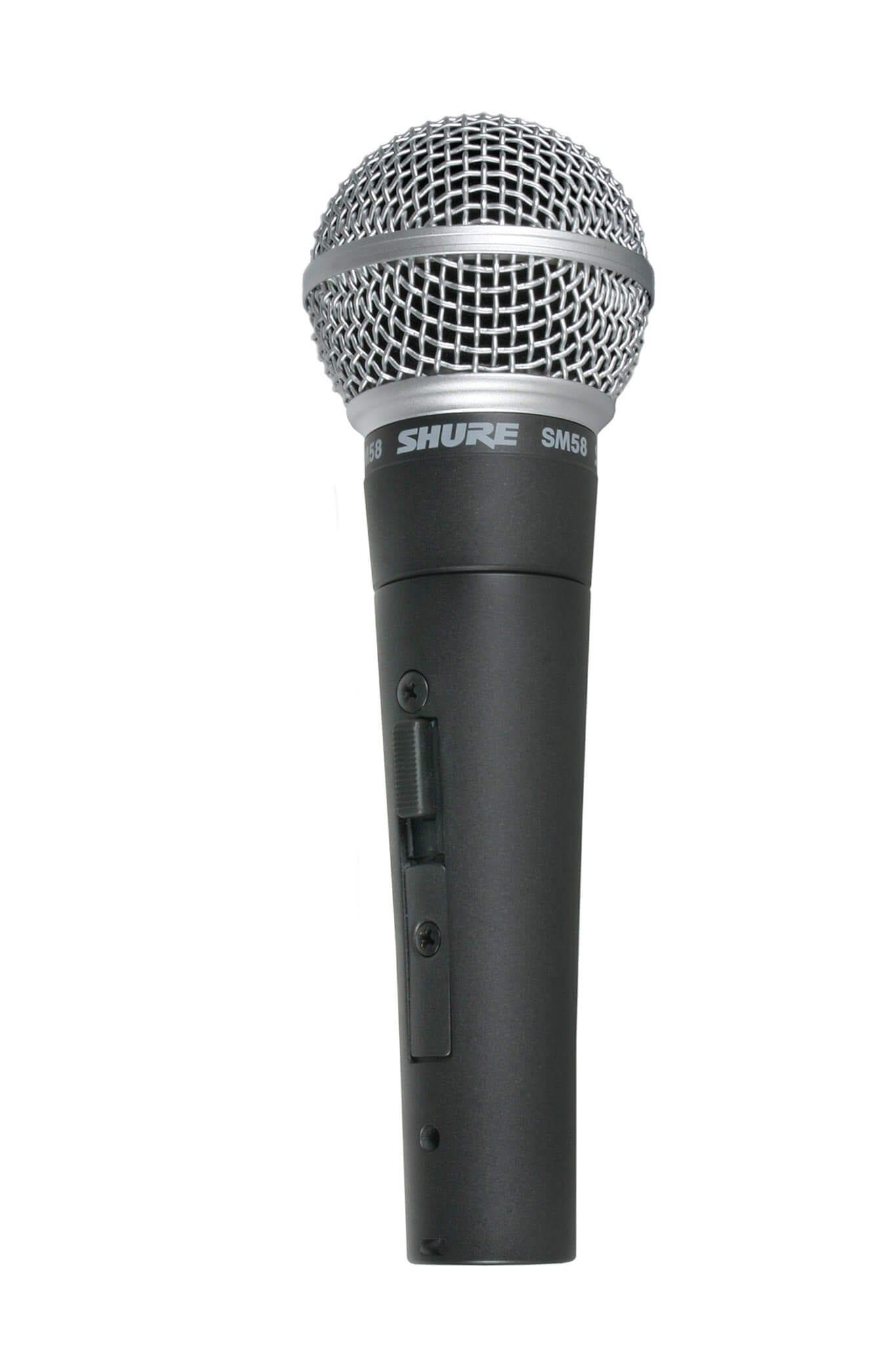 Shure SM58 Cardioid Dynamic Vocal Microphone - HyTek ...