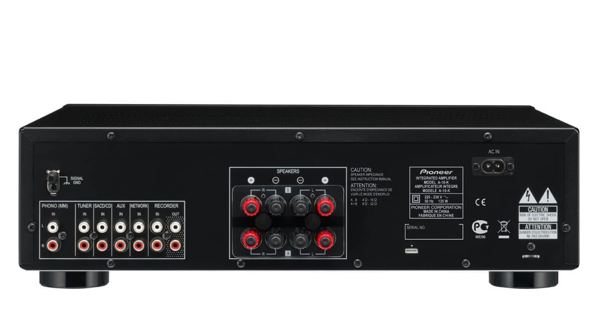 Pioneer A 10 50w Stereo Amplifier With Direct Energy