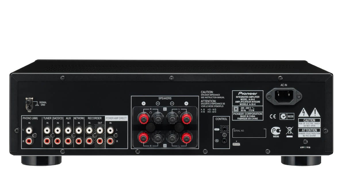 Power Rack For Sale >> Pioneer A-30 70W Stereo Amplifier With Direct Energy ...
