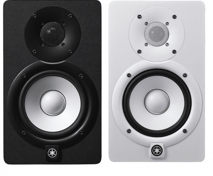 yamaha hs8 2 way bass reflex bi amplified nearfield studio monitor with 8 cone woofer and 1. Black Bedroom Furniture Sets. Home Design Ideas