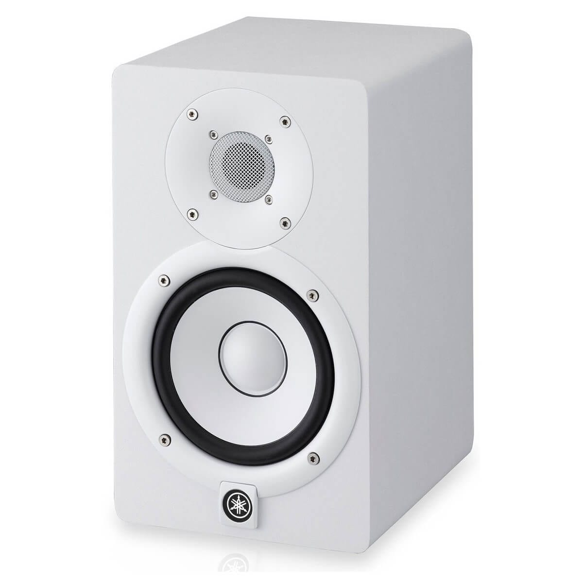 yamaha hs7 2 way bass reflex bi amplified nearfield studio monitor with 6 5 cone woofer and 1. Black Bedroom Furniture Sets. Home Design Ideas
