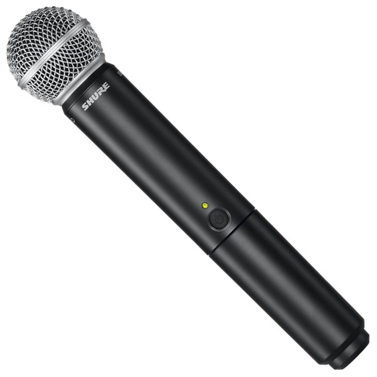 shure blx24 sm58 single wireless handheld microphone system hytek electronics. Black Bedroom Furniture Sets. Home Design Ideas