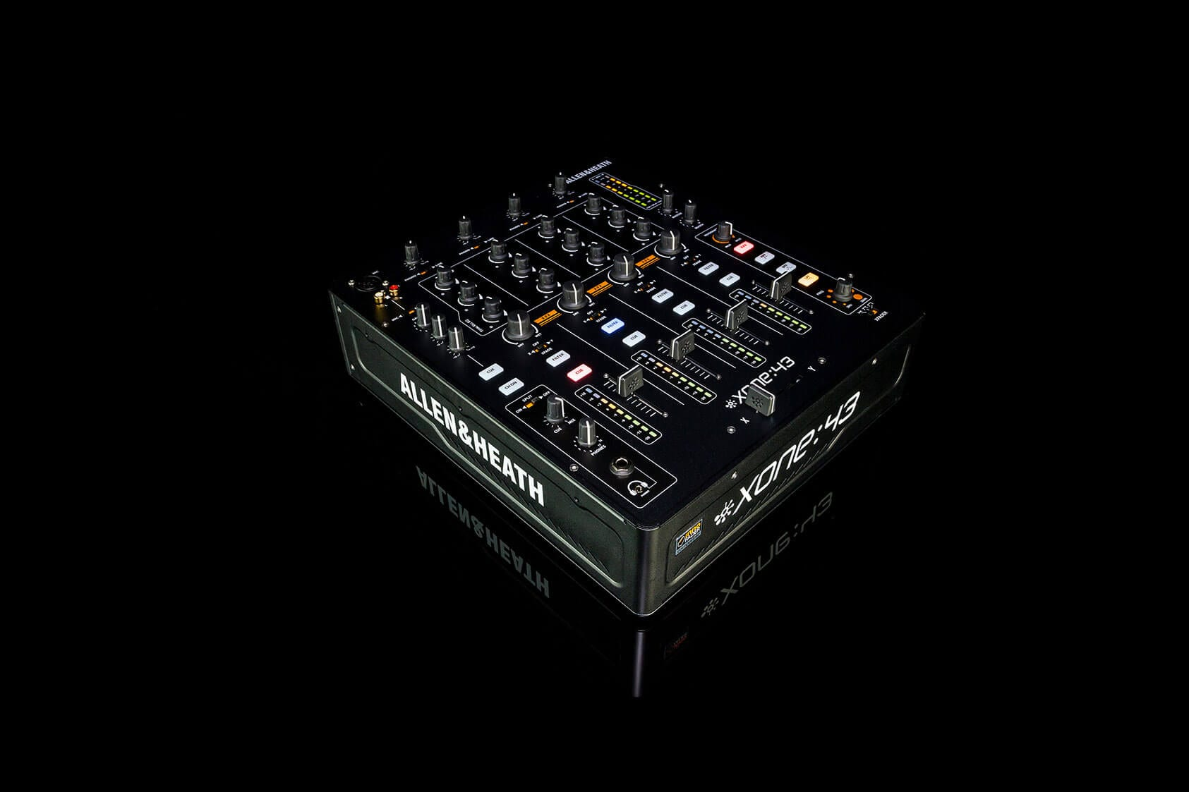 allen and heath xone 43 4 1 channel analogue dj mixer hytek electronics. Black Bedroom Furniture Sets. Home Design Ideas