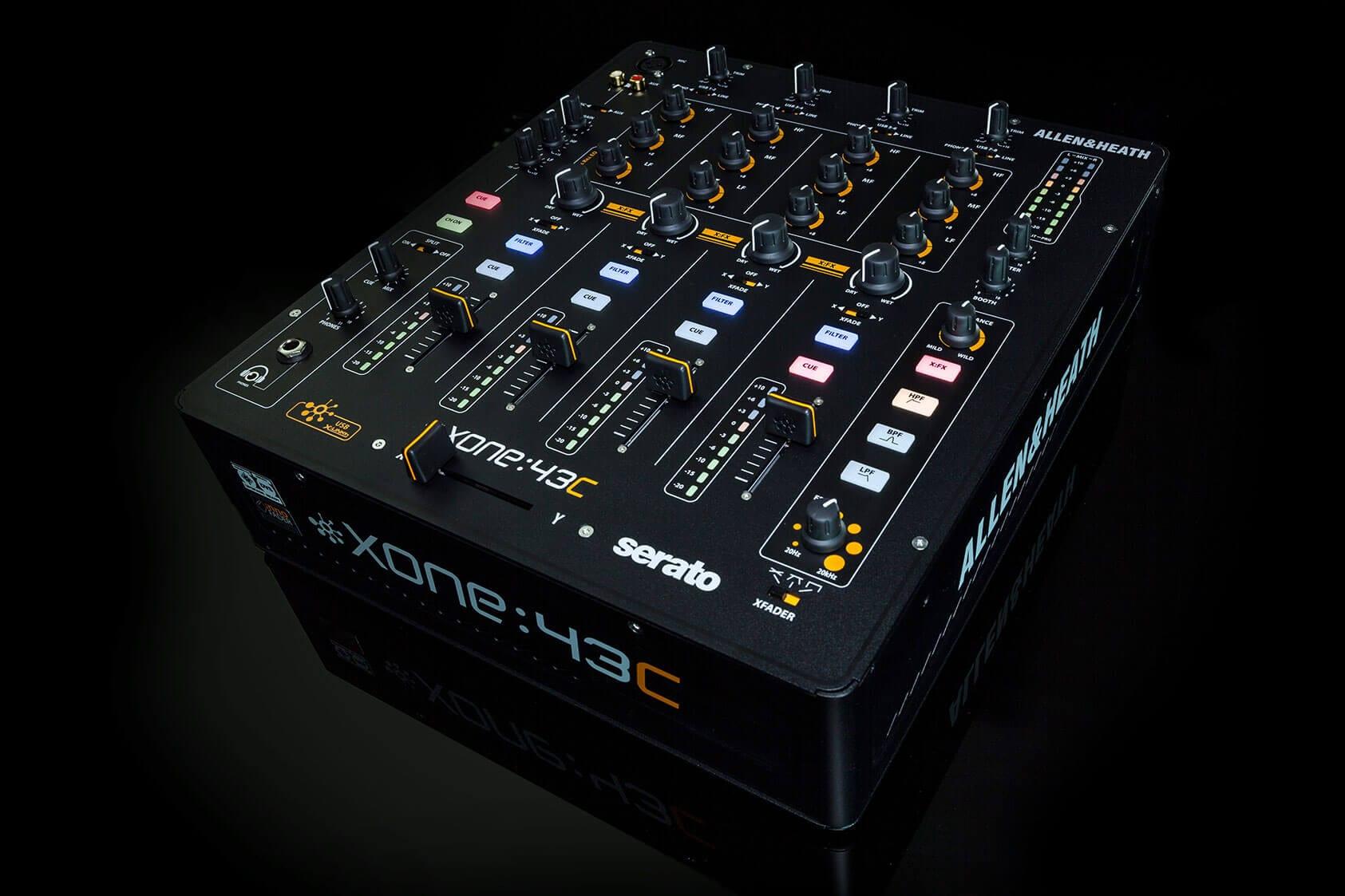allen and heath xone 23c 2 2 channel anaolgue dj mixer with soundcard hytek electronics. Black Bedroom Furniture Sets. Home Design Ideas