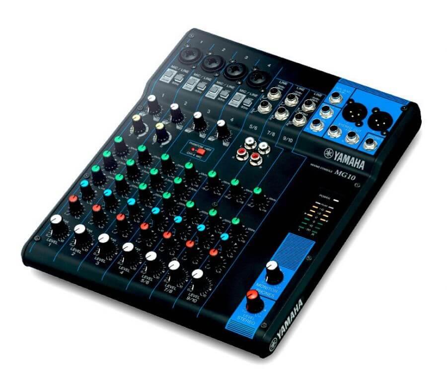 yamaha mg10 3rd generation 10 channel mixer hytek electronics. Black Bedroom Furniture Sets. Home Design Ideas