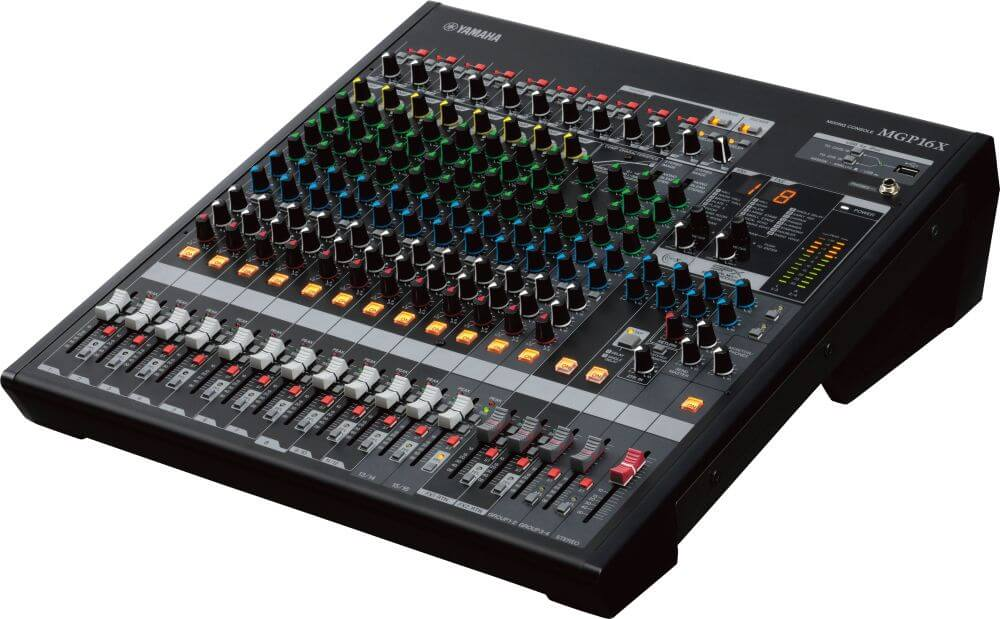 yamaha mgp16x 16 channel mixer with dual digital effects processors hytek electronics. Black Bedroom Furniture Sets. Home Design Ideas