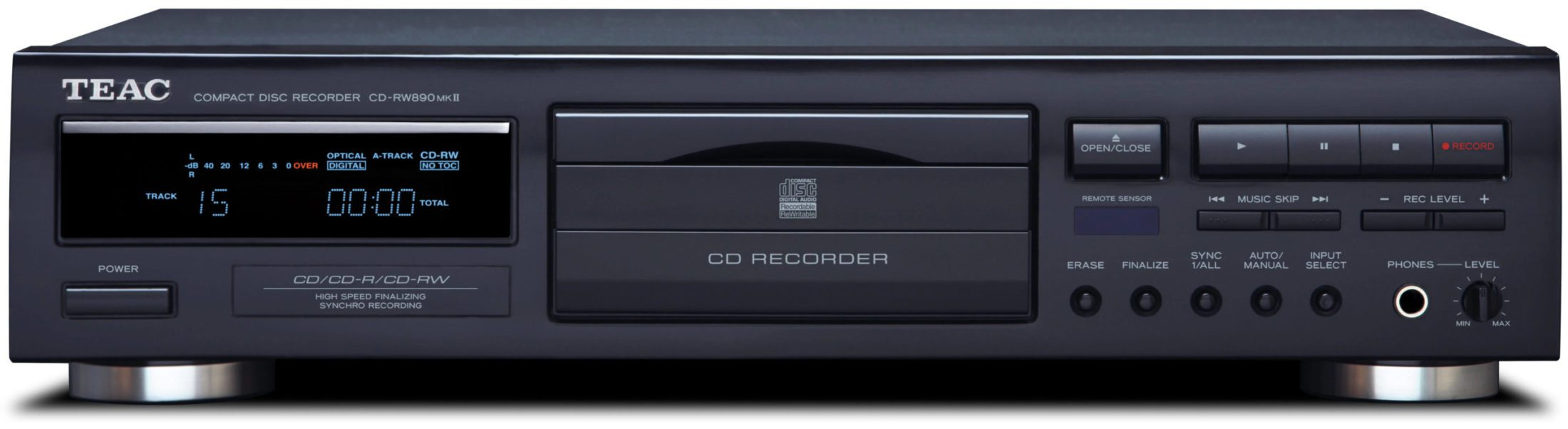 Teac CDRW890MK2 CD Player And Recorder
