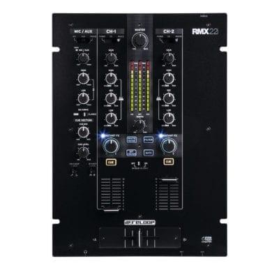 Reloop RMX-22i Professional 2 Channel Digital DJ Mixer