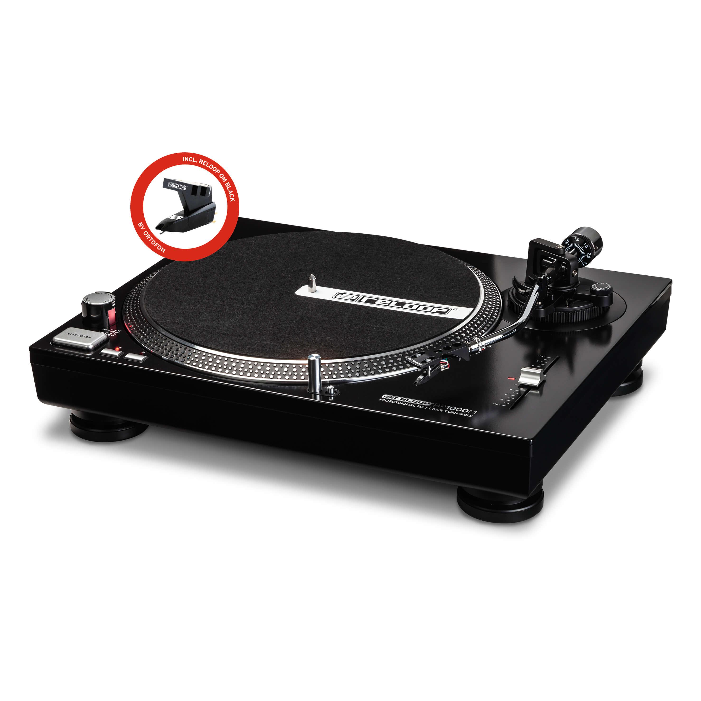 Reloop RP-1000M Belt Drive DJ Turntable